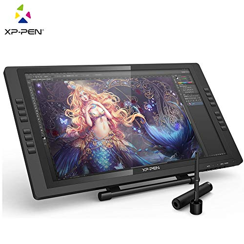 XP-Pen Artist22E Pro 22inch FHD IPS Graphic Pen Display Interactive Drawing Monitor with Shortcut keys and Adjustable Stand Support Windows Mac
