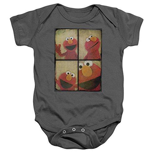 Sesame Street - Barboteuse - Bébé (garçon) - noir - 24 mois