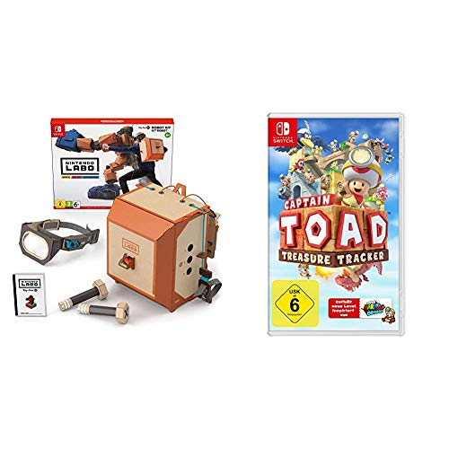 Nintendo Labo: Robo-Set [Nintendo Switch] & Captain Toad: Treasure Tracker - [Nintendo Switch]