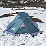 camppal Professional 1 Person Single Breathable 4 Season Mountain Tent, Lightweight Backpacking...