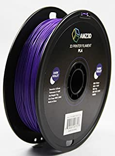 1.75mm Dark Violet PLA 3D Printer Filament - 1kg Spool (2.2 lbs) - Dimensional Accuracy +/- 0.03mm