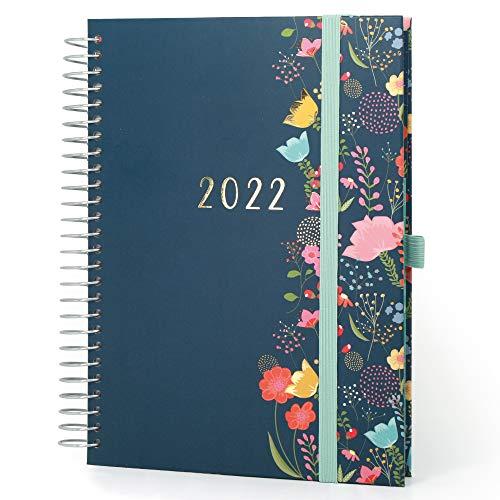Boxclever Press Life Book Agenda 2021 2022 (en inglés). Agenda escolar 2021-2022 ideal para gente ocupada. Planificador semanal mediados de agosto'21-dic'22. Agenda 2021-2022 A5 con listas y más.