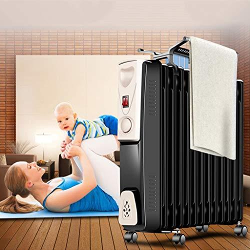 Nuevo Radiador con aceite de 13 aletas, 2000W, calentador eléctrico portátil, 3...