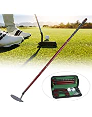 Juego de Putter de Golf - Juego de Putter de Pelota, Kit de Equipo Portátil de Entrenamiento de Putter de Pelota de Golf