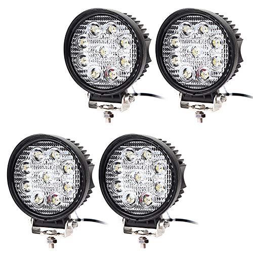 2pcs Weiß LED Arbeitsscheinwerfer Rückfahrscheinwerfer Lampe Offroad Traktor LKW