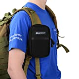 BOOSTEADY Backpack Strap Pouch, Smartphone Strap Pack, Backpack Attachment Bag for Hikers