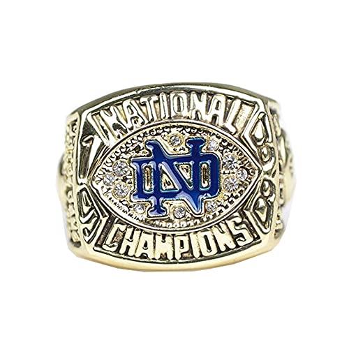 WSTYY 1997 Michigan Wolverines Championship Ring Campione Anello Uomo Super Bowl Campionato Collezione Commemorativa Anelli da Uomo,Without Box,11