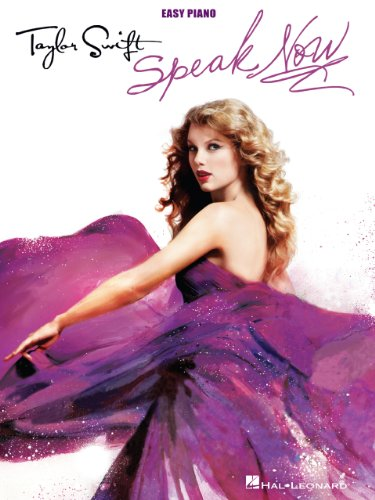 Taylor Swift - Speak Now Songbook: Easy Piano (English Edition)
