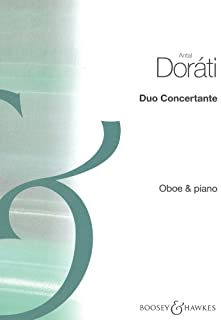 ドラティ : 協奏的二重奏曲 (オーボエ、ピアノ) ブージー&ホークス出版