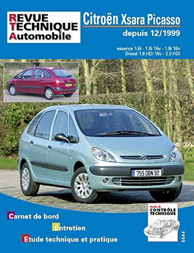 E.T.A.I - Revue Technique Automobile 105 - CITROEN XSARA PICASSO - 1999 à 2010