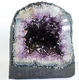Preciosa Geoda de Amatista/Drusa Natural del Brasil - Calidad Extra/Medidas: 15,0 KG - 25 x 22 x 20 CM