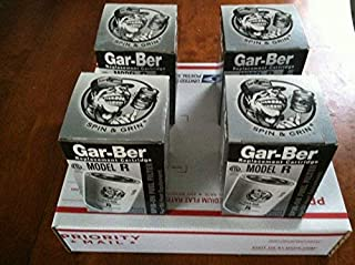 FOUR(4) GAR-BER MODEL R SPIN-ON OIL FUEL FILTERS - REPLACEMENT CARTRIDGE NEW IN BOX