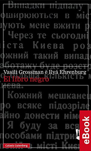 El libro negro (Narrativa) eBook: Grossman, Vasili, Ehrenburg, Ilyá: Amazon.es: Tienda Kindle