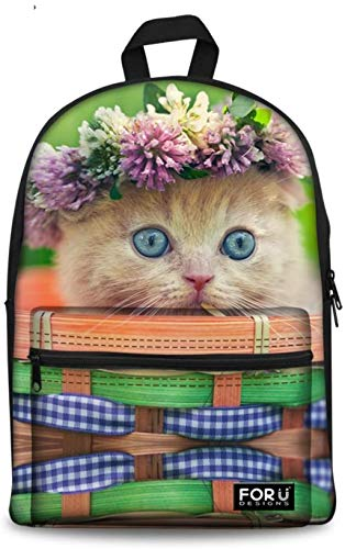 Review Of Children's Backpack Cute polar bear bags for children rucksack, the Cat3 (Color : Cat5)