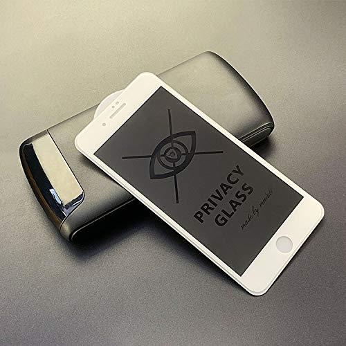 Voor iPhone 7 Plus / 8 Plus Anti-glare Volledig Scherm Gehard Glas Film Nieuwe (Zwart) Moonbaby Kleur: wit