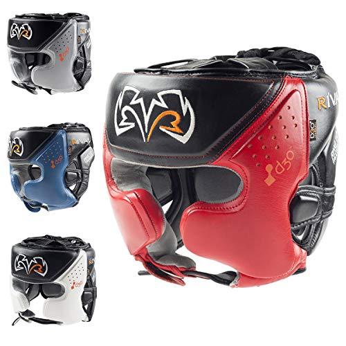 RIVAL Boxing RHG10 Intelli-Shock d30 Headgear - Small - Black/Red