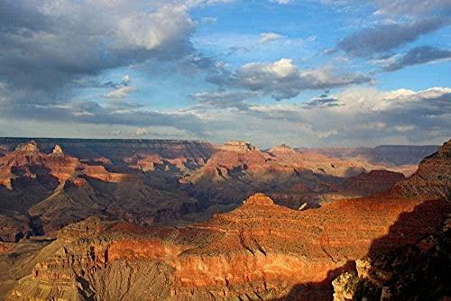 MX-XXUOUO Rompecabezas para Adultos Sunset Over Grand Canyon Classic Puzzle de madera-500 Piezas