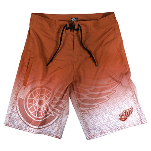 Detroit Red Wings Gradient Board Short Medium 32