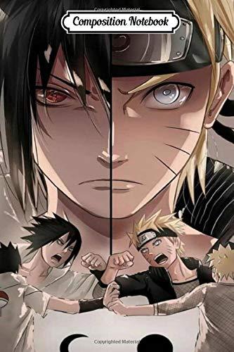 Shippuden Naruto-Sasuke-Sakura-Kakashi-Itachi Vol. 41 Anime Journal/Notebook, College Ruled 6' x 9' inches, 120 pages