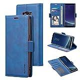 QLTYPRI Coque pour Samsung Galaxy S8 Plus - Souple Premium PU Cuir Flip Case avec Fente Carte...