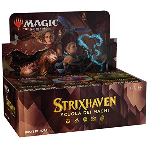 box draft booster - strixhaven: school of mages (36 buste) - ita