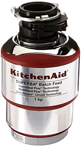 KitchenAid KBDS100T 1 hp Batch Feed Food Waste Disposer
