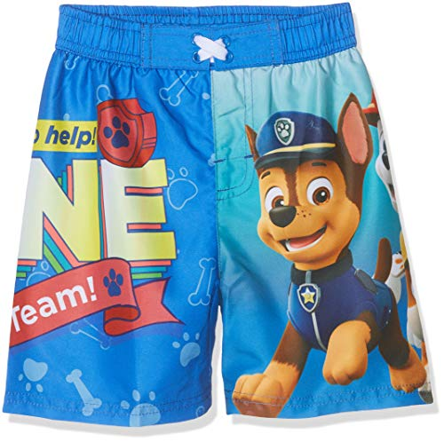 PAW PATROL Jungen 5542 Boxershorts, Blau Bleu, 6 Jahre