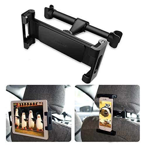 POMILE Auto Tablet Halterung Kopfstütze Universal KFZ Kopfstützen Halterung Unterstüzt für 4.6-12.9 Zoll für Pad Tablet Handy