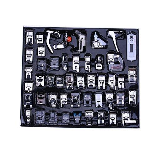 Juego de prensatelas para máquina de coser (48 unidades)
