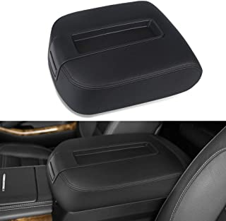 VANJING Center Console Lid Armrest Cover Kit Compatible for 2007-2013 Chevy Avalanche Silverado Tahoe Suburban GMC Yukon Yukon XL Sierra-Replaces 15217111 15941534