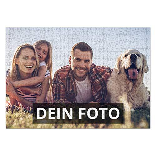 PhotoFancy® – Puzzle mit Foto Bedrucken Lassen – XXL Fotopuzzle mit 1500 Teilen und eigenem Bild Personalisieren