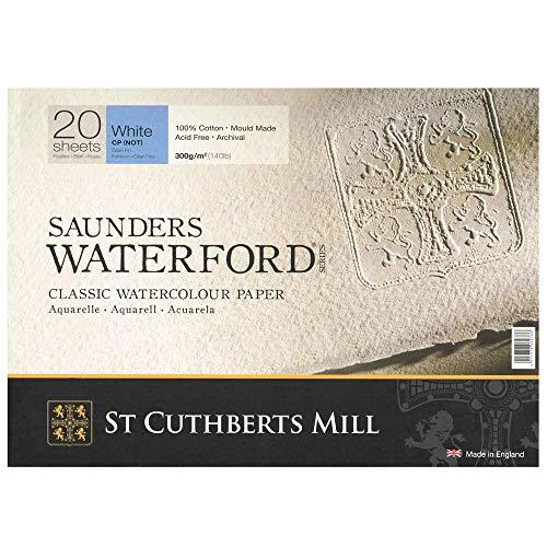 St Cuthberts Mill Saunders Waterford Blocco Carta da 310 x 230 mm, Pesso del prodotto: 0.49 kg