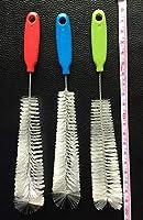 トルコのステーキソースステンレス鋼の注射針2オンス七面鳥シリコーンブラシ洗浄ブラシで3針 (Size : Random Color)