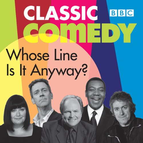 Whose Line Is It Anyway? audiobook cover art