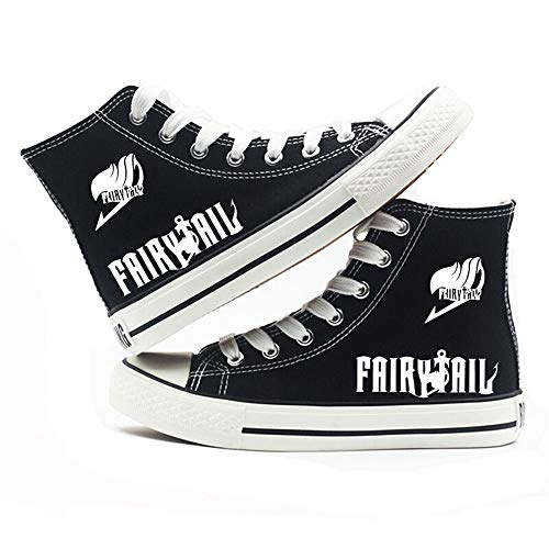 Cuento De Hadas Anime Classic Sneakers Moda Zapatillas Altas Adulto Zapatos Planos...