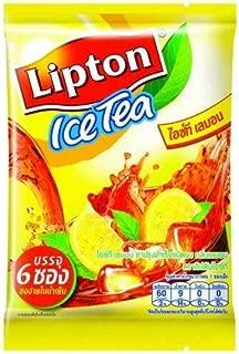 Lipton Ice Tea Lemon Size 15 g. (Pack 6 Sachets)