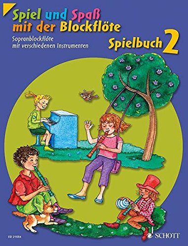 Spiel und Spaß mit der Blockflöte: Neuausgabe, herausgegeben von Gudrun Heyens und Gerhard Engel. Band 2. Sopran-Blockflöte mit verschiedenen ... Schlagzeug und Bass ad lib.). Spielbuch.