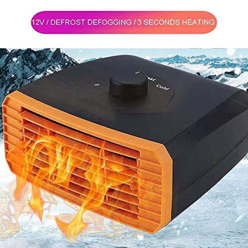 TERMALY elektrische kachel voor autosnelheid, 12 V-24 V verwarming, elektrische verwarming voor vrachtwagen, interieur van voertuig, defogger, 3 seconden warm sneeuwdefogger B