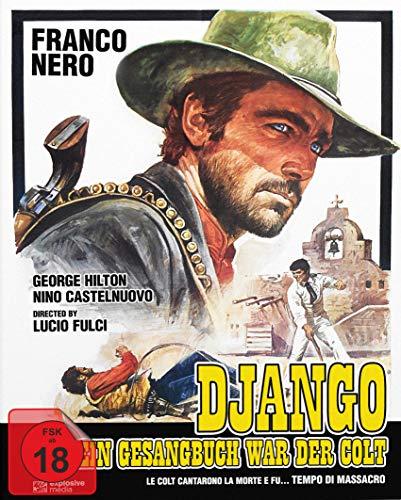 Django - Sein Gesangbuch war der Colt Mediabook - Cover B - Limited Edition (+DVD) [Blu-ray]