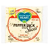 Follow Your Heart Lonchas de queso vegano - Estilo Pepper Jack (200g) | VEGANO | SIN GLUTEN