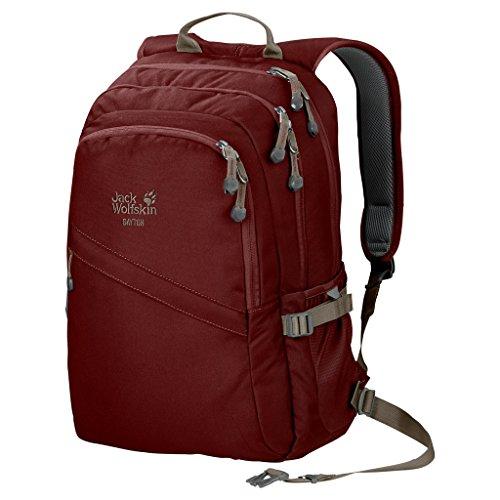Jack Wolfskin Dayton Alltag Daypack Rucksack, Redwood, 48x36x4 cm