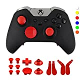 WPS Metal Alloy Bumper Trigger Button Set for XBOX One Elite Controller with...