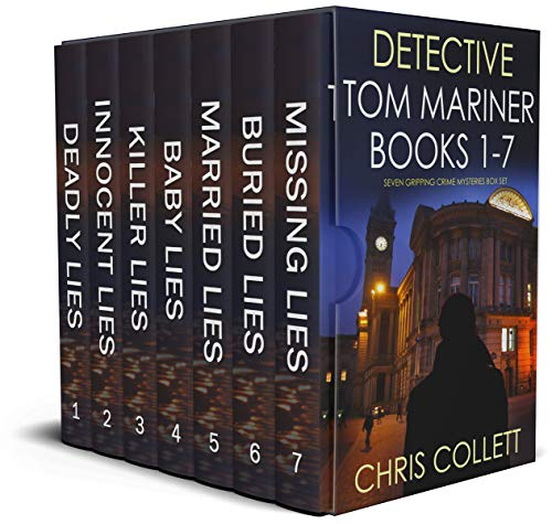 DETECTIVE TOM MARINER BOOKS 1–7 seven gripping crime mysteries box s