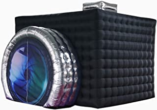 inflatable photo booth with camera