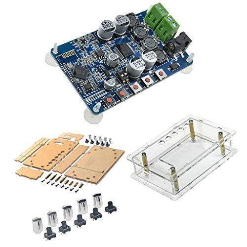 Fenteer Tda7492p 2 X 50 Watt Bluetooth 4,0 Audio Receiver Verstärkermodul Board + Fall
