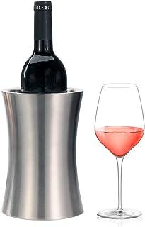 ワインチラーバケット、ステンレス鋼二重壁断熱ワインクーラー/シャンパンバケット、冷たいワインを多目的にキッチン用品として使用
