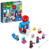 LEGO DUPLO Marvel Spider-Man Headquarters (10940) includes 3 superhero figures and lots of super-cool activities, so budding superheroes can enjoy endless, hands-on, imaginative play Includes a buildable Spider-Man headquarters, plus 3 superhero figu...