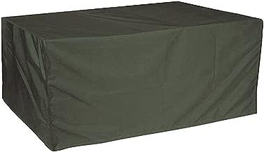 Noir 600D 216x173x89CM Housse Ext/érieure pour Salon de Jardin /Étanche Anti-Poussi/ère en Oxford 600D avec Rev/êtement en PVC ERAY Housse de Protection pour Table de Jardin