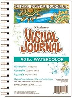 Strathmore 400 Series Visual Watercolor Journal, 90 LB 5.5