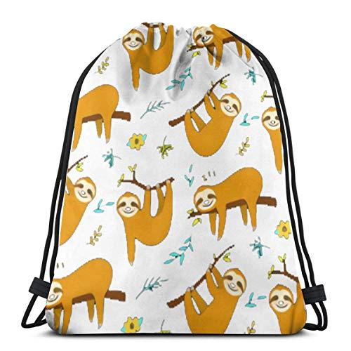 AEMAPE Sweet Stylish Backpack Cinch Sack String Travel Drawstring Bag Storage Pouch Women Girls Kids Gifts 36x43 cm-6BO